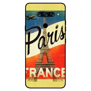 Coque De Protection Paris Vintage Pour LG V40 ThinQ