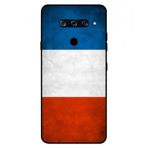 Coque De Protection Drapeau De La France Pour LG V40 ThinQ
