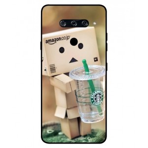 Coque De Protection Amazon Starbucks Pour LG V40 ThinQ