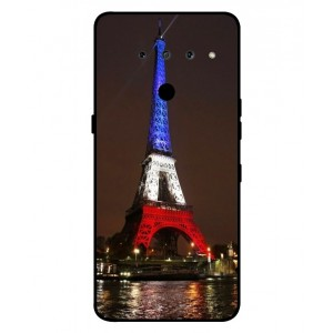 Coque De Protection Tour Eiffel Couleurs France Pour LG V50 ThinQ 5G