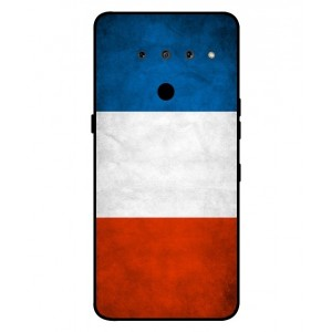Coque De Protection Drapeau De La France Pour LG V50 ThinQ 5G
