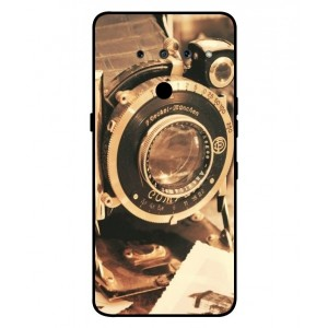 Coque De Protection Appareil Photo Vintage Pour LG V50 ThinQ 5G