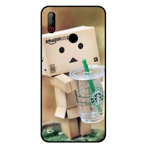 Coque De Protection Amazon Starbucks Pour LG W30 Pro