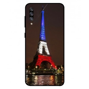 Coque De Protection Tour Eiffel Couleurs France Pour Samsung Galaxy A30s
