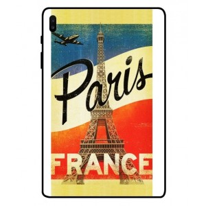 Coque De Protection Paris Vintage Pour Samsung Galaxy Tab S6