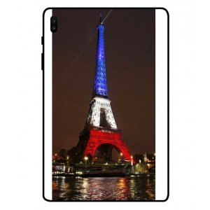 Coque De Protection Tour Eiffel Couleurs France Pour Samsung Galaxy Tab S6
