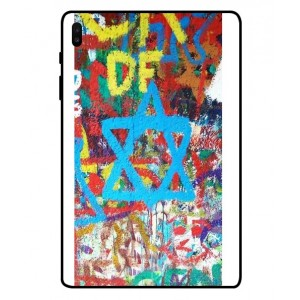 Coque De Protection Graffiti Tel-Aviv Pour Samsung Galaxy Tab S6