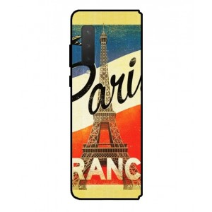 Coque De Protection Paris Vintage Pour Samsung Galaxy Fold