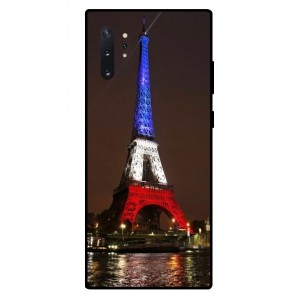 Coque De Protection Tour Eiffel Couleurs France Pour Samsung Galaxy Note 10 Plus