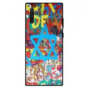 Coque De Protection Graffiti Tel-Aviv Pour Samsung Galaxy Note 10 Plus