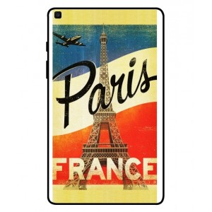 Coque De Protection Paris Vintage Pour Samsung Galaxy Tab A 8.0 2019