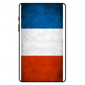 Coque De Protection Drapeau De La France Pour Samsung Galaxy Tab A 8.0 2019