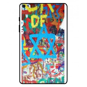 Coque De Protection Graffiti Tel-Aviv Pour Samsung Galaxy Tab A 8.0 2019