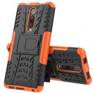 Protection Antichoc Type Otterbox Orange Pour Xiaomi Redmi K20 Pro