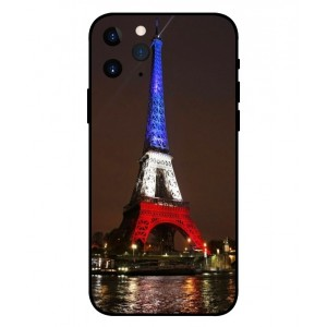 Coque De Protection Tour Eiffel Couleurs France Pour iPhone 11 Pro