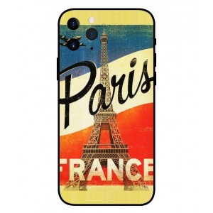Coque De Protection Paris Vintage Pour iPhone 11 Pro