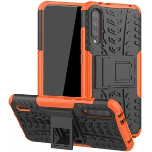 Protection Antichoc Type Otterbox Orange Pour Xiaomi Mi A3