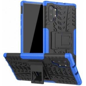 Protection Antichoc Type Otterbox Bleu Pour Samsung Galaxy Note 10 Plus