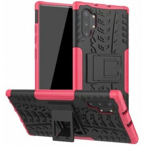 Protection Antichoc Type Otterbox Rose Pour Samsung Galaxy Note 10 Plus