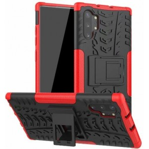 Protection Antichoc Type Otterbox Rouge Pour Samsung Galaxy Note 10 Plus