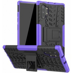 Protection Antichoc Type Otterbox Violet Pour Samsung Galaxy Note 10 Plus