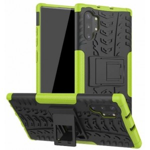 Protection Antichoc Type Otterbox Vert Pour Samsung Galaxy Note 10 Plus