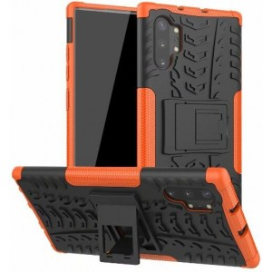 Protection Antichoc Type Otterbox Orange Pour Samsung Galaxy Note 10 Plus