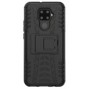Protection Solide Type Otterbox Noir Pour Huawei Nova 5i Pro