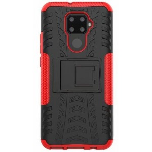 Protection Antichoc Type Otterbox Rouge Pour Huawei Nova 5i Pro