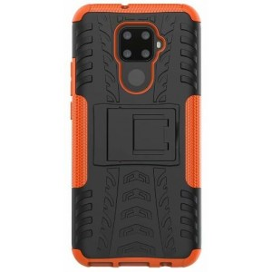 Protection Antichoc Type Otterbox Orange Pour Huawei Nova 5i Pro