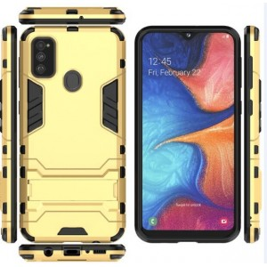 Protection Antichoc Type Otterbox Or Pour Samsung Galaxy M30s
