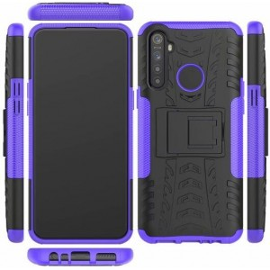Protection Antichoc Type Otterbox Violet Pour Oppo Realme 5 Pro