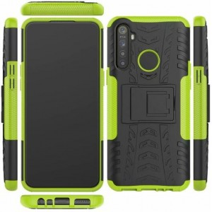 Protection Antichoc Type Otterbox Vert Pour Oppo Realme 5 Pro