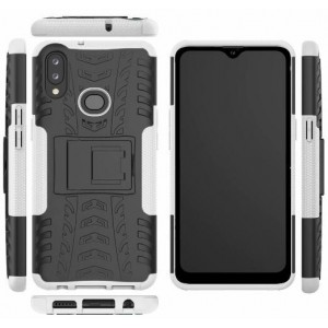Protection Antichoc Type Otterbox Blanc Pour Samsung Galaxy A10s