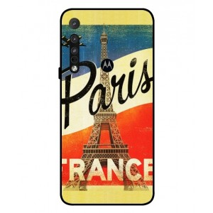Coque De Protection Paris Vintage Pour Motorola One Macro