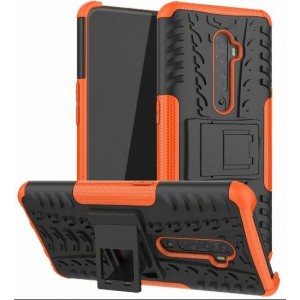 Protection Antichoc Type Otterbox Orange Pour Oppo Reno 2