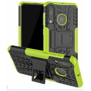 Protection Antichoc Type Otterbox Vert Pour Samsung Galaxy A60