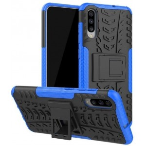 Protection Antichoc Type Otterbox Bleu Pour Samsung Galaxy A70