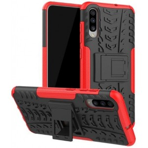 Protection Antichoc Type Otterbox Rouge Pour Samsung Galaxy A70