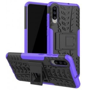 Protection Antichoc Type Otterbox Violet Pour Samsung Galaxy A70