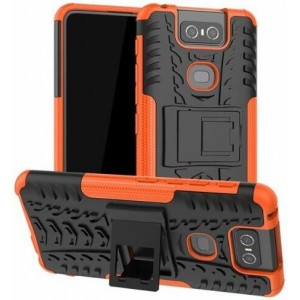 Protection Antichoc Type Otterbox Orange Pour Asus Zenfone 6 ZS630KL