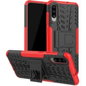 Protection Antichoc Type Otterbox Rouge Pour Samsung Galaxy A50s