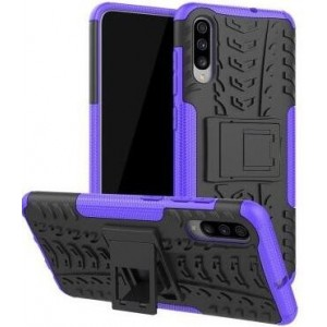 Protection Antichoc Type Otterbox Violet Pour Samsung Galaxy A50s