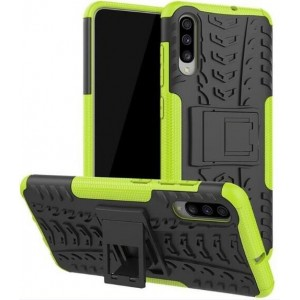 Protection Antichoc Type Otterbox Vert Pour Samsung Galaxy A50s