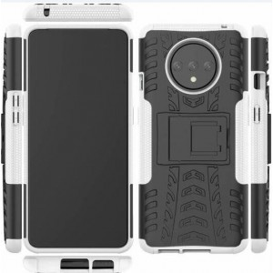 Protection Antichoc Type Otterbox Blanc Pour OnePlus 7T