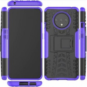 Protection Antichoc Type Otterbox Violet Pour OnePlus 7T