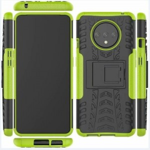 Protection Antichoc Type Otterbox Vert Pour OnePlus 7T