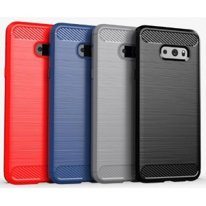 Coque De Protection En Carbone Pour LG V50S ThinQ 5G