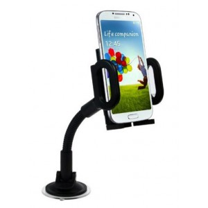 Support Voiture Flexible Pour Wiko View 4