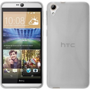 Coque De Protection En Silicone Transparent Pour HTC Desire 826